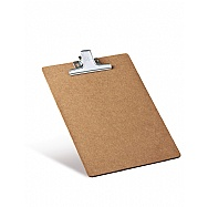 Clipboard MDF Letter Size - Metal Clip
