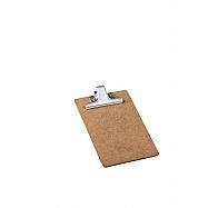 Clipboard MDF Memo Size - Metal Clip