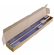 Conjunto com 24 réguas (40, 50 e 60cm)