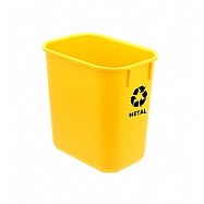 WASTEBASKET FOR RECICLYNG MATERIALS 13qt