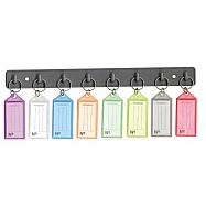 Key Tag Rack - With 8 Keyring Tags