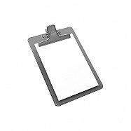Clipboard Memo size metallic clip