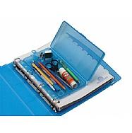 Conjunto fichário 4 argolas + Estojo escolar Teen Box
