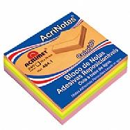 Acrinotes 76x76mm - colorido (240 fls)
