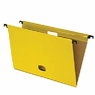 Colored plastified hanging file - Yellow