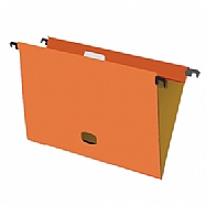 Colored plastified hanging file - Orange