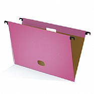 Colored plastified hanging file - Pink