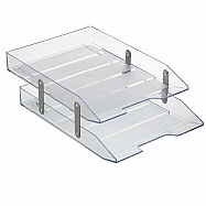 Double Articulated Letter Tray