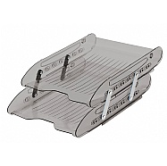 Superx Double Articulated Letter Tray