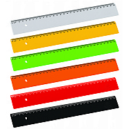 Ruler 30 cm - 6 pack (CITRUS COLORS)