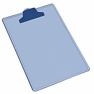 A4 / Letter size clipboard - Plastic Clip