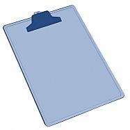 Tabla para pepeles plastica - Carta com gancho plástico